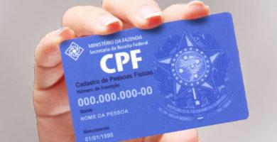 o que significa CPF inválido